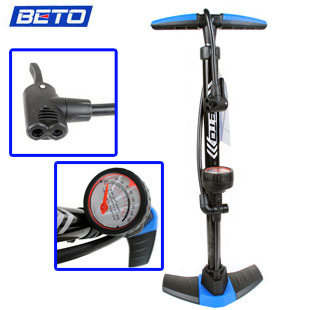 Beto bicycle pump foot floor type high pressure household mountain bike inflatable tube belt tire pressure table(China (Mainland))