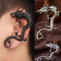 E279 fashion punk earrings ear hook earrings no pierced female