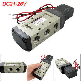 VF5120 DC 21-26V Guide Type Pneumatic Solenoid Valve Free shipping(China (Mainland))