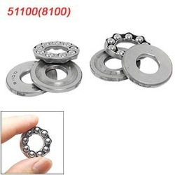 10 Pcs 10 x 24 x 9mm 51100 Single Direction Thrust Ball Bearings Free shipping(China (Mainland))