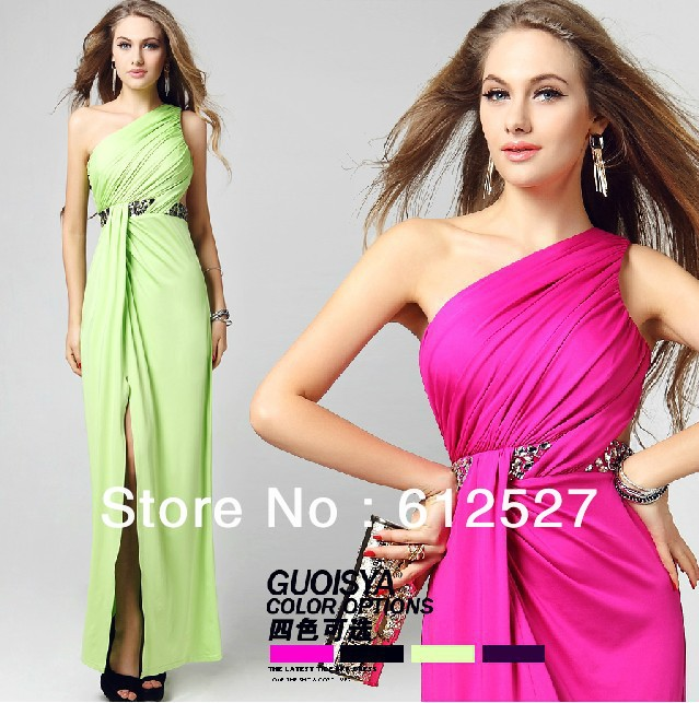 2013 Newest Fashion Style hot sale promotion star host sexy long fashionable evening dresss free shipping(China (Mainland))