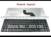New Laptop keyboards for Aspire 5536 5536G 5738 5810 5810T Black FR* keyboard - MP-09B26F0-6983