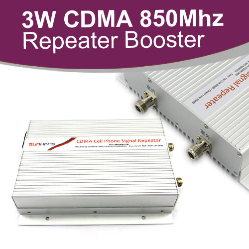 5000 square meters (50000 sq ft.) coverage area,3W(40dBm)Power 85dB Gain CDMA 850MHz booster/repeater,850 signal Amplifier(China (Mainland))