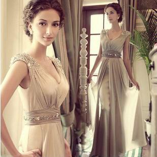 Free Shipping 2015 New Arrival Jinxu Women's Prom Gown Ball Evening Dress Vestido De Festa