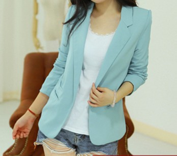 Fashion 2013 Leisure Suits Silm Women Outwear Lady Jacket /Coat Spring/Autumn