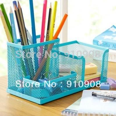 Cute metal stationery holders portfolio pen holder desk - Cute desk accessories and organizers ...