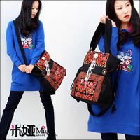 2013 New Arrival Miya Bags Vintage Hmong Embroidery Handbags Fashion Ladies Bag Bohemia Canvas Bag