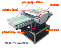 Free shipping CD/DVD disc printer, waterproof, colorful Flatbed Printer , Multi-purpose Flatbed Printer , A2 size
