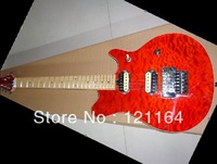 Best Top Musical instruments Newest red Electric Guitar Maple Fingerboard HOT