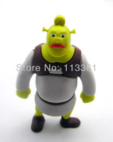 Free Shipping! Shrek Full 4GB 8GB 16GB 32GB USB 2.0 Flash Pen Drive U-disk Memory Card Stick Mobile Storage Devices