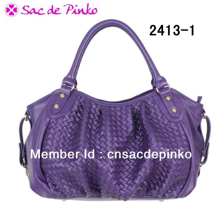 new fashion leisure weave handbag soft shopping tote bag(China (Mainland))