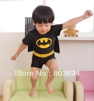 Wholesale Baby boys Swimming suit,Swimwear,boy swimsuit ,batman free shipping  5set/lot  BB13