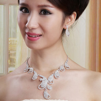 The bride the bride accessories marriage accessories the bride necklace bride chain sets wedding accessories xl015