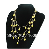 Free shipping Fashion Chain Necklace mixed 2 colors 8pcs/lot