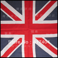 Free Shipping Male and female hip-hop bandanas Cool hip hop Cool UK flag head scarf 030