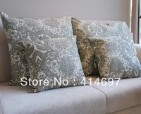 Gray memories Cotton cushion cover 43*43cm ZD0102