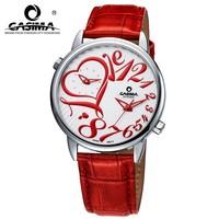 2014 Top Fashion Sale Hardlex Quartz Fashion Female Watches Genuine Leather Watchband Ladies Watch Table Women's Clock Women