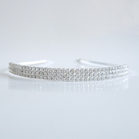 Fashion brief hair bands alloy rhinestone cuicanduomu full rhinestone headband hair pin hair accessory hair
