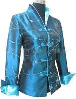 fashion 2013 Chinese Women's Traditional Embroidery jacket Cheongsam Vest Dress M-3XL