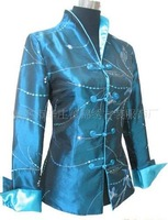 fashion 2013 Chinese Women's Traditional Embroidery jacket Cheongsam Vest Dress M-3XL