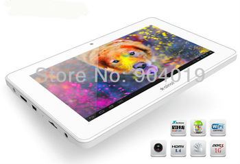 7'' Ainol Novo 7 Crystal Quad Core 1024x600 Android 4.1 8GB 1.5GHz Wifi Tablet White Black