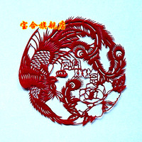 Unique foreign affairs gifts paper cutting home decoration painting