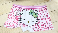 Hot kit child girl underwear hello kitty cartoon cats lycra cotton children's underwear children 's pants wholesale