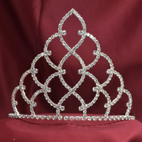 classic beauty pageant crown tiara 5 inches high NO.026-5