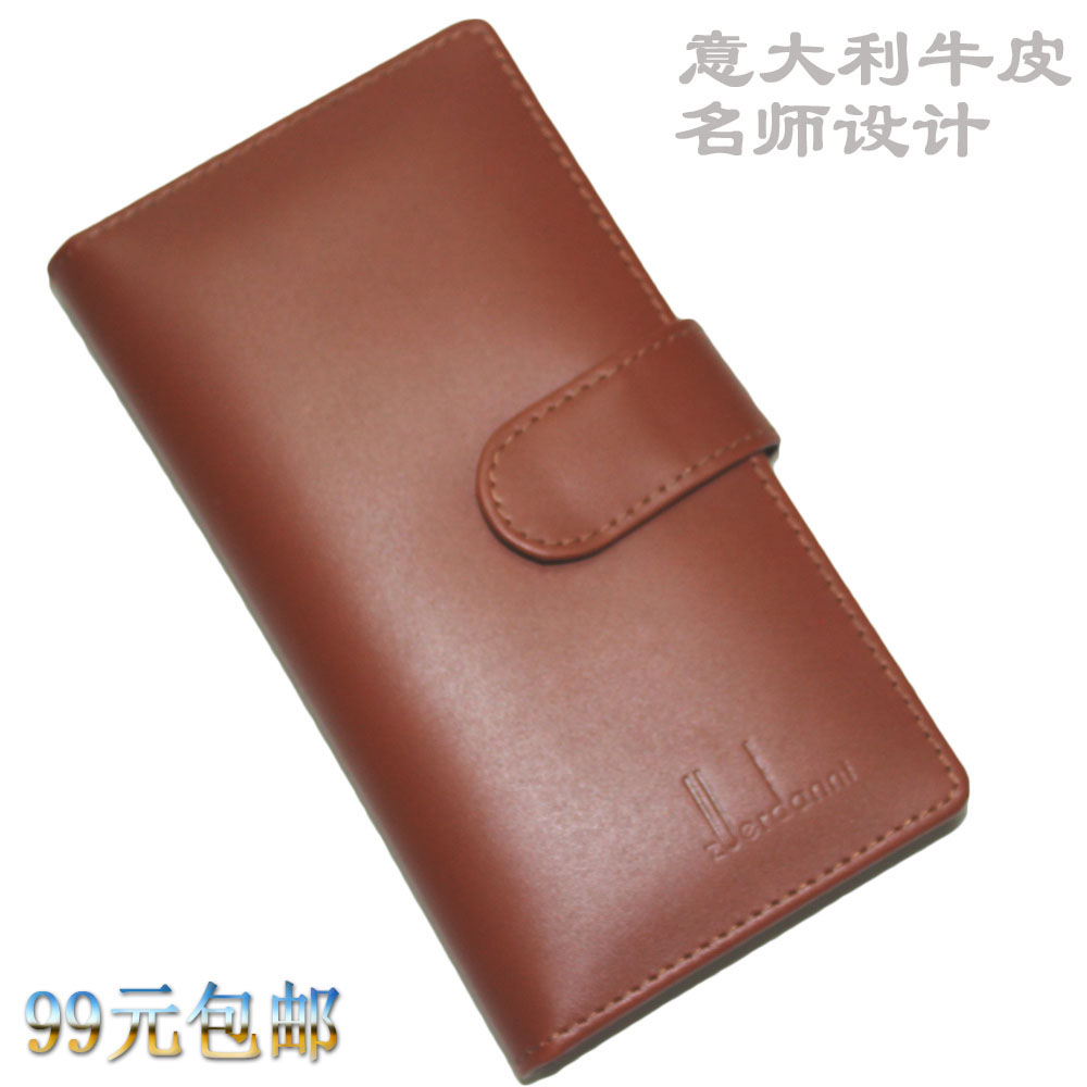 Dannie genuine leather card holder multi card holder women's men's gift business card case card stock(China (Mainland))