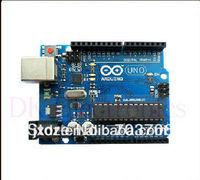 Free shipping 2012 latest UNO R3 + USB cable development board microcontroller hot sale