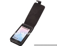PU Leather Case For Lenovo A789 Flip Holster Leather Pouch Cover Case Free Shipping