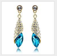 Romantic elegant ShiLuoHua crystal pendant   Free shipping