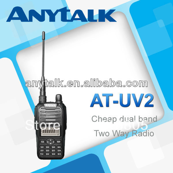 AT-UV2 Low price dual band walky talky(China (Mainland))