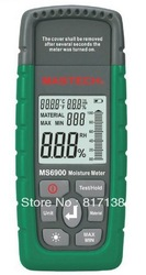Mastech MS6900 Digital Wood Timber Moisture Meter Tester free shipping(China (Mainland))