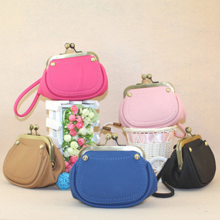 2013 women's handbag casual vintage bag beads buckle bag coin purse cosmetic bag female bags women's handbag female(China (Mainland))