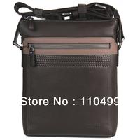 casual fashion business new leather shoulder bag for men