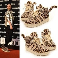 2013 autumn platform women's shoes high-top shoes fashion vintage leopard print casual shoes single shoes