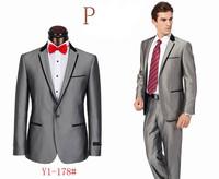 2014 hot selling  men's tuxedo suit brand designer wedding suit new arrival tuxedo suit set s-4xl