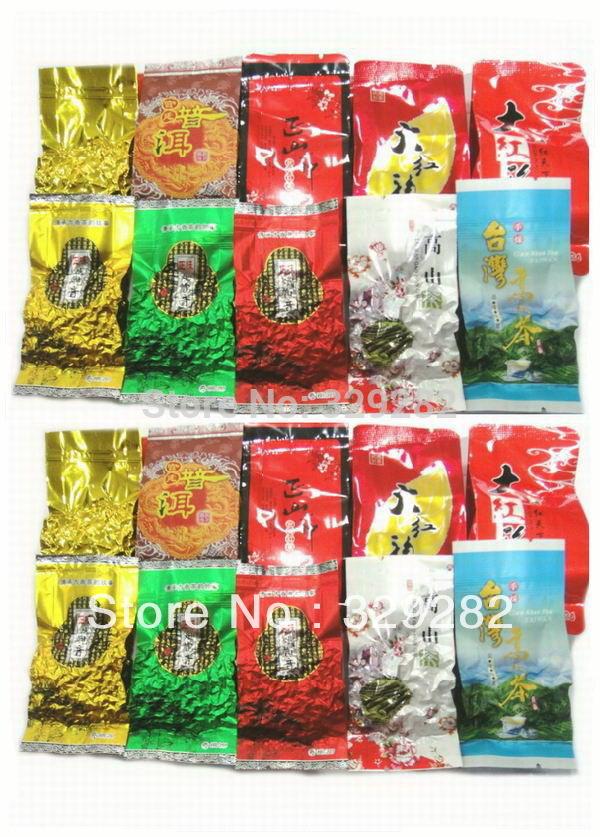 20pcs 10 different flavors oolong tea milk oolong tea ginseng