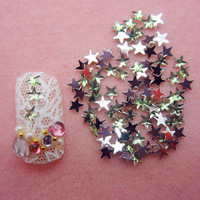 Free Shipping 10000pcs/lot Green Flatback star nail art Rhinestone stone decorations