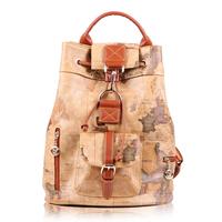 B.angel 2014 hot sale all-match PVC HQ map backpack for school vintage bag 712