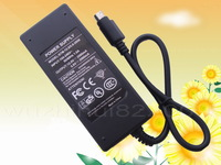 1PCS 6pin 100V - 240V AC to DC 12V / 5V 2A for HDD Enclosure Case Power Supply Adapter 6 pin 2000mA New + Free shipping
