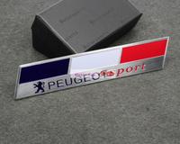 peugeot sport Emblems Badge Motor Sport Racing Sticker Rear For 308 CC 3008 RCZ CC Expert 5008 Free Shipping High Quality