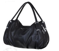 2013 Hot Sale Fashion Women Bags Genuine Sheepskin Handbag Lady PU Handbag 3 Colors Leather Shoulder Bag Handbags 087