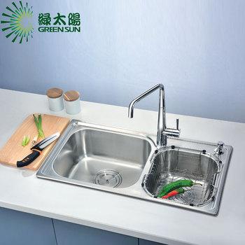 304 stainless steel kitchen sink vegetables basin slot wt85986