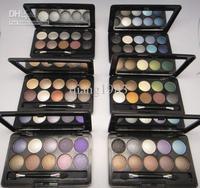 Best Selling 2012 Makeup!100 Pcs New Arrival 10 colors eye shadow palette!25g