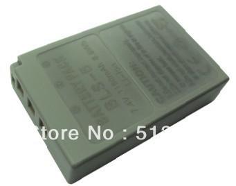 Free shipping High capacity 7.4V 1150mah   li- lion digital camera  battery for Olympus(BLS-5)