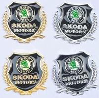 skoda Octavia Fabia Modified special metal sticker logo ear side mark
