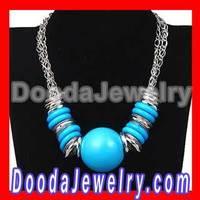 2013 New Designs Chunky Chain Large Ball Choker Necklace Free Shipping, 2pcs/lot