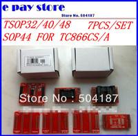 100% original TSOP48/40/32 (7pcs/lot) + sop44 adapter, high quality. For TL866CS / TL866A programmer